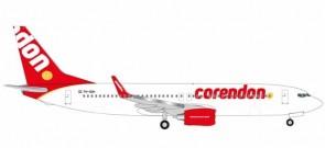 Corendon Boeing 737-800 PH-CDH Turkish-Dutch Herpa Wings 531399 scale 1:500