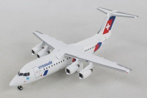 """Crossair Avro RJ100 """"Jumbolino""""  Herpa HE559638 scale 1:200"""