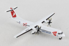 "CSA Czech Airlines ATR-72-500 ""95 Years"" OK-NFU Herpa Wings 532792 scale 1:500"