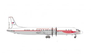 CSA Czechoslovak Airlines Ilyushin IL-18 OK-PAH Ил-62 Herpa 571333 scale 1:200