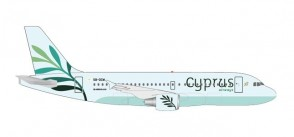 Cyprus Airbus A319 5B-DCW Olive livery Herpa Wings 531757 scale 1:500