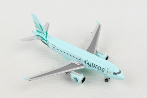 Cyprus Airbus A319 5B-DCW Olive branch livery Herpa Wings 531757 scale 1:500