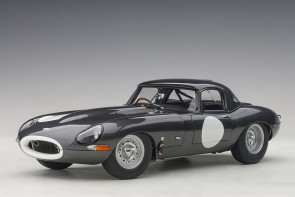 Dark Grey Jaguar Lightweight E-Type 73647 AUTOart Die-Cast Scale Model 1:18
