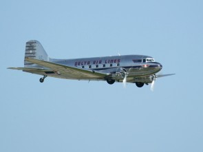Skymarks Delta Airlines DC-3 1/80 REG#NC28341
