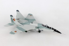 "East German Air Force Mikoyan Mig-29 UB NVA/LSK Black 179 ""Wladimir Komarow"" Herpa Wings 580267 Scale 1:72"