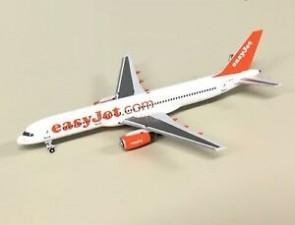 easyjet  757-200G-ZAPX NG Models die cast scale 1:400