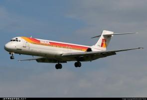 Iberia MD-87 Reg# EC-FHD