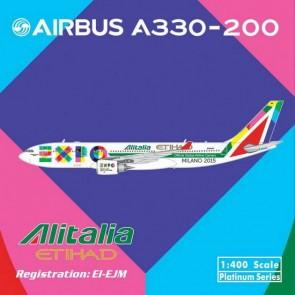 SALE! Alitalia/Etihad A330-200 Expo Milano 2015 EI-EJM 11035 Scale 1:400
