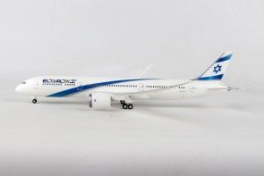 El Al  Boeing 787-9 Dreamliner with gears Hogan HG11236G Scale 1-200