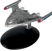 Warp Delta Starship Star Trek Universe Eagle Moss Die-Cast EM-ST0082