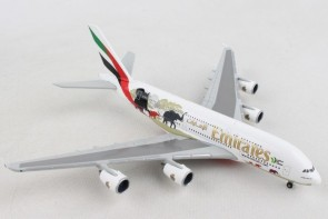 Emirates Airbus A380 A6-EER Wildlife #2 Herpa 532723 scale 1:500