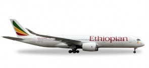 Ethiopian Airlines Airbus A350-900 Herpa Wings 531610 scale 1:500