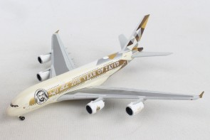 "Etihad Airbus A380 A6-APH ""Year of Zayed 2018"" Herpa 531948 scale 1:500"