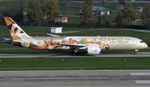 "Etihad Airways Boeing 787-9 Dreamliner ""Choose Italy"" A6-BLH Phoenix 04336 scale 1:400"