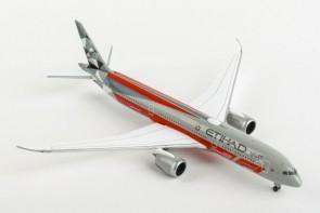Etihad Boeing 787-9 Abu Dhabi Grand Prix F1 A6-BLV Herpa 533263 scale 1:500