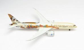 "Etihad ""Choose Italy"" Boeing 787-9 A6-BLT Dreamliner Herpa 571364 scale 1:200"