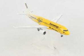 Eurowings Airbus A320 D-ABDU Hertz 100 Years Herpa Wings 559904 scale 1:200