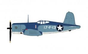 F4U-1 Corsair (Birdcage) VF-17 USS Bunker Hill Hobby Master HA8221 scale 1:48
