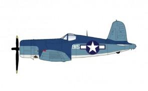 "F4U-1A Corsair Maj. ""Pappy"" Boyington's last missiong VMF-214 ""Black Sheep"" Jan. 3 1944 Hobby Master HA8222 scale 1:48"