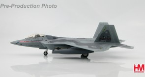 "First F-22A Raptor 01 ""Spirit of America"" (""b"" includeds 4 AIM-120 missiles) Hobby Master HA2811b 1:72"