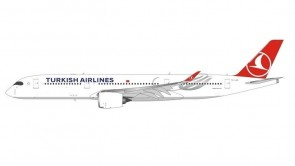 Flaps down Turkish Airlines Airbus A350-900 TC-LGA JC Wings EW4359006A scale 1:400