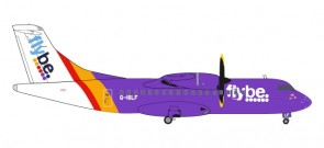 FlyBe ATR-42-500 G-ISLF die-cast Herpa 559331 scale 1:200