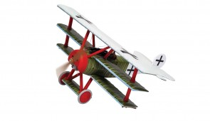 Fokker DR.1 Triplane Ltn Hans Weiss Cappy Aerodrome France 21st April 1918 Corgi CG38312 1:48