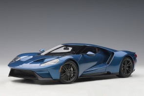Ford GT 2017 Liquid Blue AUTOart 72942 die-cast model scale 1:18