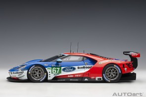 Ford GT Le Mans 2017 P.Derani/A.Priaulx/H.Tincknell #67 AUTOart 81710 die-cast model scale 1:18