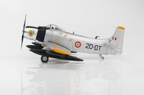 "French Air Force AD-4 Skyraider EC 2/20 ""Quarsenis"" Algeria Early 1960s HA2916 scale 1:72"