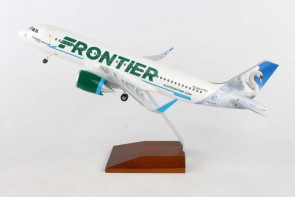 "Frontier A320neo N324FR ""Summer the Swan"" Skymarks Supreme SKR8361 scale 1:100"