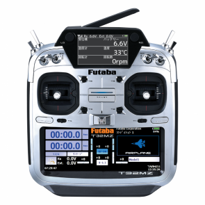 Futaba 32MZ FASSTest 18-Channel Aircraft (Ratchet Throttle) Radio with R7108SB Receiver