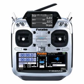 Futaba 32MZ FASSTest 18-Channel Aircraft (Ratchet Throttle) Radio with R7108SB Receiver