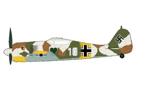 Fw190A-4 Oblt. W. Nowotny CO 1./JG 54 Russia March 1943 Hobby Master HA7427 scale 1:48