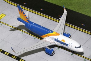 Allegiant Airbus A319 A319(S) (New Livery, Sharklets)  Gemini 200 G2AAY663 Scale 1:200