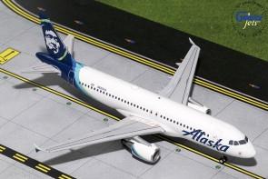 Alaska Airbus A320-200 New Livery N625VA Gemini Jets G2ASA737 scale 1:200