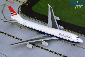 British Airways Boeing 747-400 G-CIVB Negus 100 years livery Gemini200 G2BAW841 scale 1:200