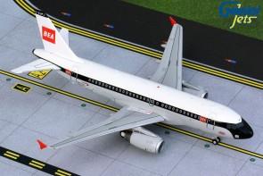 """G2BAW842British Airways Retro """"BEA"""" Airbus A319 100 Years G-EUPJ G2BAW842 Gemini 200 scale 1:200"""