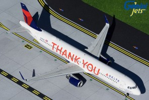 """Delta Airlines Airbus A321 """"Thank You"""" N391DN Gemini 200 G2DAL925 Die-Cast 1:200"""