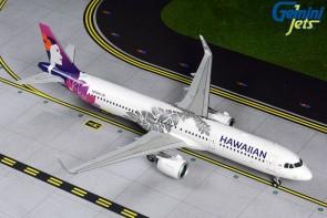 Hawaiian Airbus A321neo N204HA new livery Gemini G2HAL809 Scale 1:200
