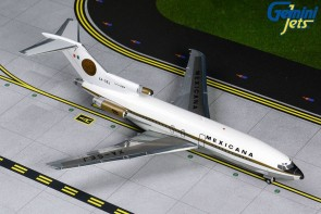Mexicana Boeing 727-100 XA-SEJ (delivery livery, sun dial on tail) Gemini G2MXA810 Scale 1:200
