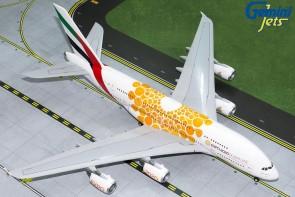 Orange Emirates Airbus A380-800 A6-EOU Expo 2020 Gemini G2UAE758 scale 1:200