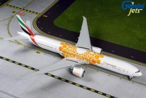 Emirates B777-300ER A6-EPO (orange Expo 2020 livery) Gemini G2UAE800 scale 1:200