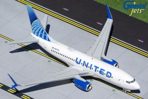 United Airlines Boeing 737-700 Scimitar winglets N21723 new livery Gemini G2UAL1014 scale 1:200