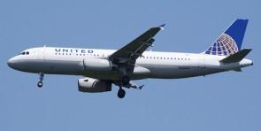 United Airbus A320 Reg# N404UA Gemini 200 G2UAL221 Scale 1:200