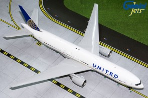 United Airlines Boeing 777-200ER N796UA GeminiJets G2UAL768 scale 1:200