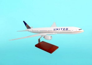 United 777-200 Post Continental Merger Livery NEW 1:100 Scale