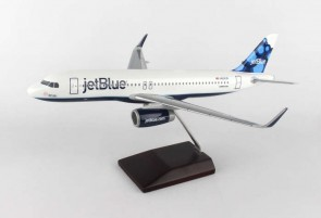 jetBlue Airbus A320 Sharklets Blueberries Crafted Executive Series Model W/Stand G52010E Scale 1:100