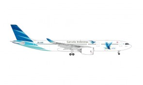 "Garuda Indonesia Airbus A330-900neo PK-GHE ""Great Travel"" Herpa Wings die-cast 535021 scale 1:500"