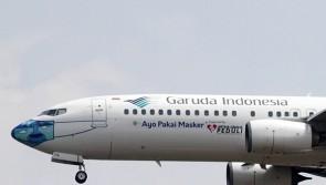 """Garuda Indonesia Boeing 737-800(W) PK-GFQ """"Ayo Pakai Masker"""" JCWings LH2GIA257 scale 1:200"""